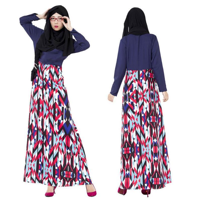 325e39fba534 Women Muslim Kaftan Abaya Islamic Long Dress-buy at a low prices on ...