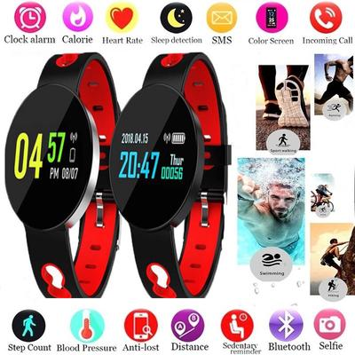GZDL Q7 Fitness Tracker Blood Pressure Oxygen Heart Rate Monitor