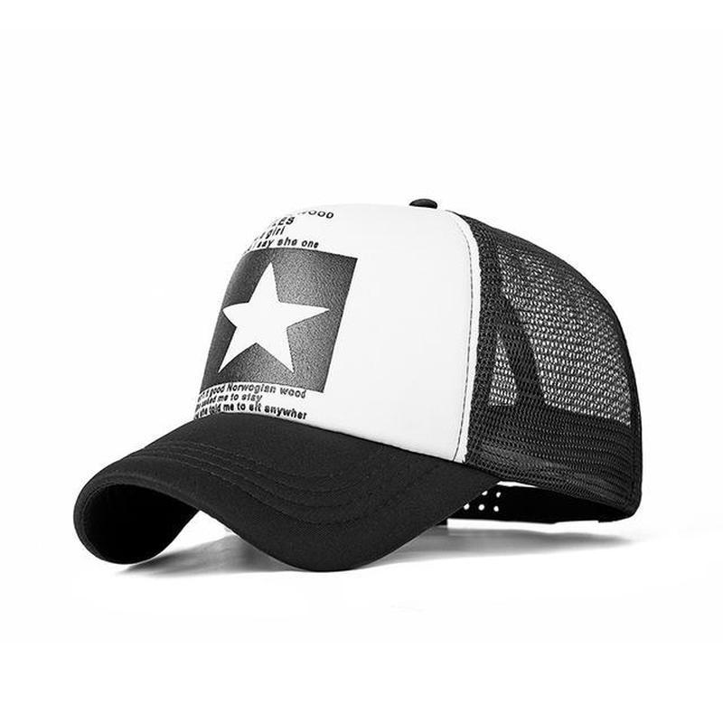 701b4fd9 Men Female Leisure Dome Printed Colored Kajeer Breathable Gorras Mesh Baseball  Caps Adjustable Hats-buy at a low prices on Joom e-commerce platform