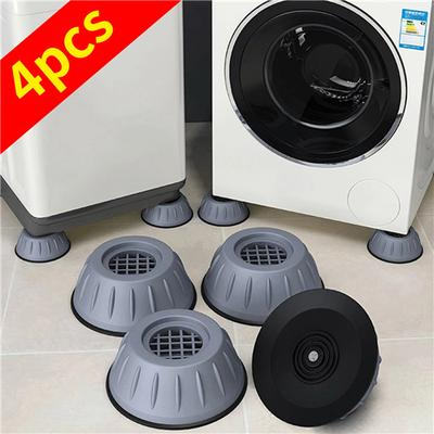 1/2/4Pcs Universal Fixed Non-Slip Pad Anti Vibration Feet Pads Washing Machine Support Dampers Stand Accessories