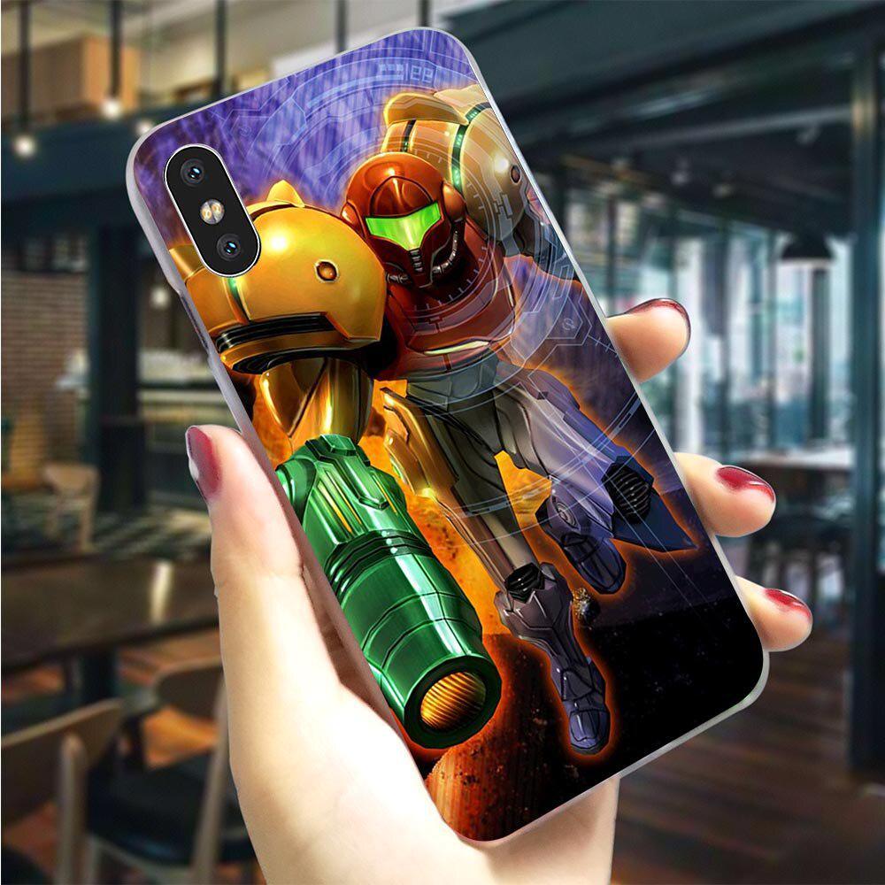 Samus Aran Metroid Plastic Hard Phone Case for Xiaomi Mi 9T Huawei Honor Samsung Galaxy iPhone-buy at a low prices on Joom e-commerce platform